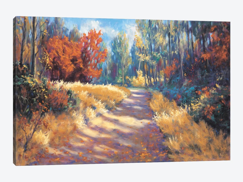Early Autumn Trail by Bruce Mcadam 1-piece Canvas Artwork