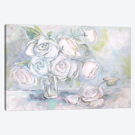 Mason Roses Canvas Print #BMD28} by Betsy McDaniel Canvas Art