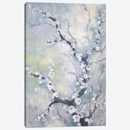 Sterling Apple Branch 3-Piece Canvas #BMD45} by Betsy McDaniel Art Print