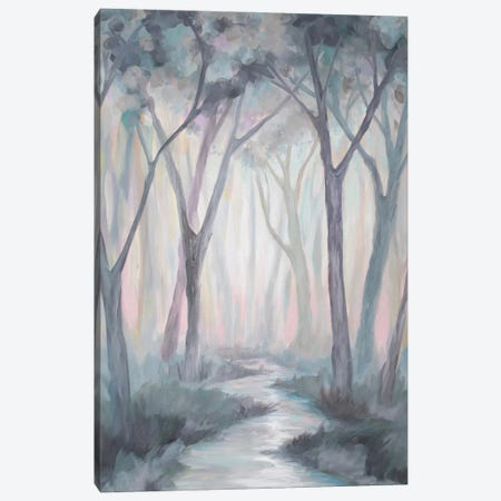 Velvet Forest 3-Piece Canvas #BMD49} by Betsy McDaniel Canvas Wall Art