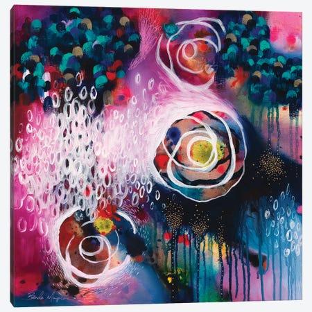 Dancing Through The Mess Canvas Print #BMG11} by Brenda Mangalore Canvas Wall Art