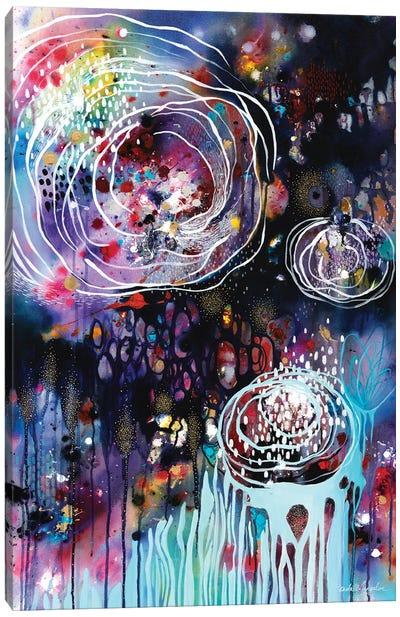 Raindrops & Resonance Canvas Art Print