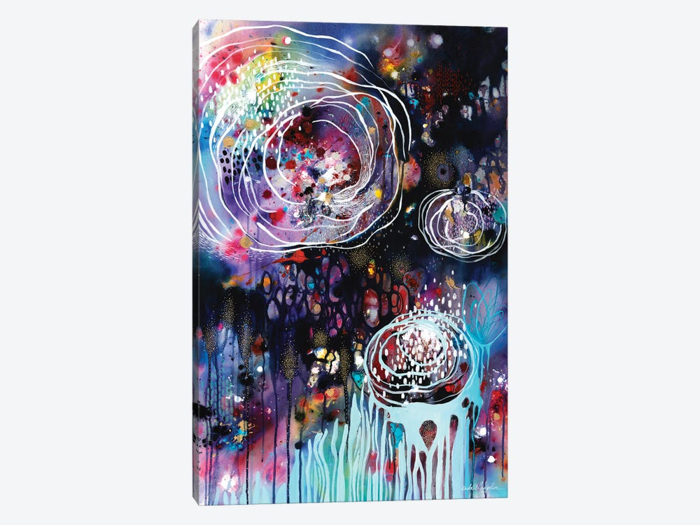 Raindrops & Resonance by Brenda Mangalore 1-piece Art Print