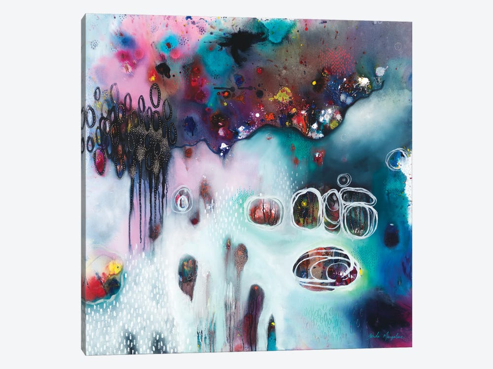 Sweet Surrender For The Mess by Brenda Mangalore 1-piece Canvas Artwork