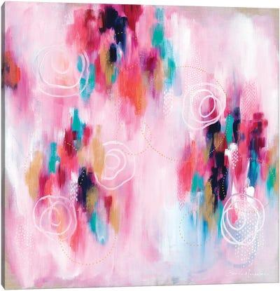 Seeking Soul VI - Pink Canvas Art Print