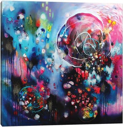 Outburst Of Joy Canvas Art Print