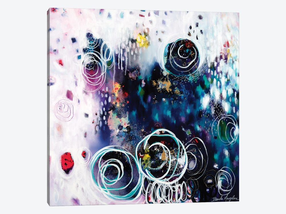If I Could Say One Thing by Brenda Mangalore 1-piece Canvas Wall Art