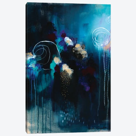 Seeking Soul VII Canvas Print #BMG6} by Brenda Mangalore Art Print