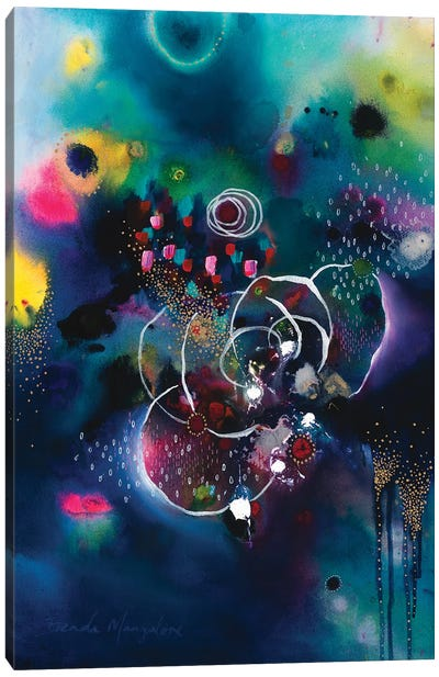 She Dreamt She Blossomed Canvas Art Print