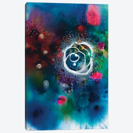 You Voice Is Your Anchor Canvas Print #BMG9} by Brenda Mangalore Canvas Wall Art