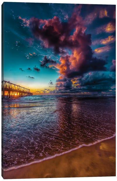 Jetty Sunrise Canvas Art Print