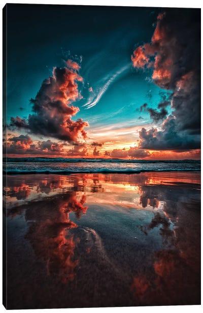 Dragon Clouds Canvas Art Print