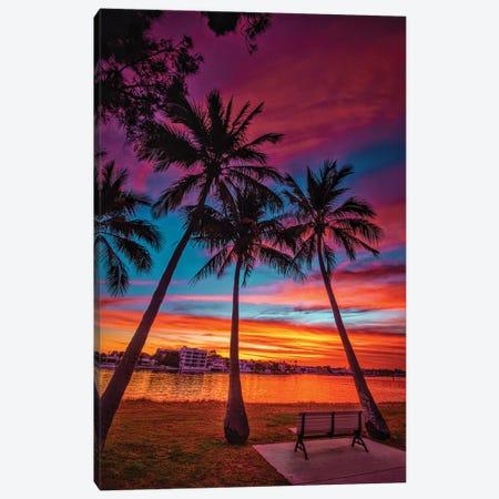 Sunset Seat Canvas Print #BML2} by Ben Mulder Canvas Art Print