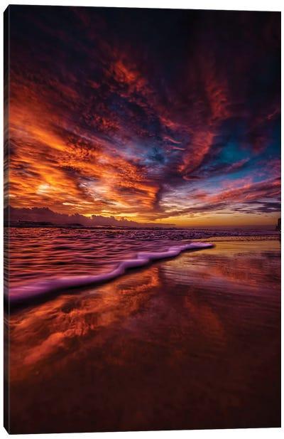 Earth, Sky & Sea Canvas Art Print
