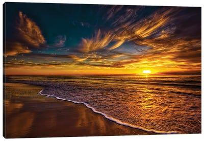 Golden Shores Canvas Art Print