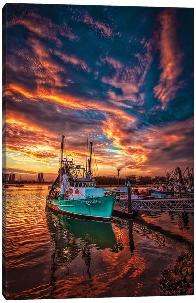 Fishing Trawler Canvas Art Print