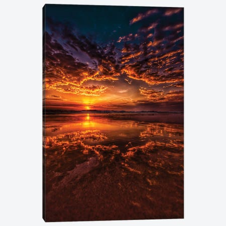 Sunrise Delight Canvas Print #BML7} by Ben Mulder Canvas Artwork