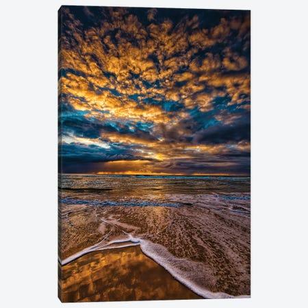 Golden Clouds Canvas Print #BML83} by Ben Mulder Canvas Artwork