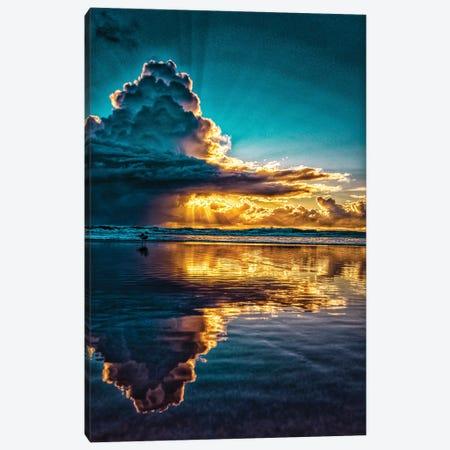 Morning Sun Cloud Canvas Print #BML84} by Ben Mulder Canvas Print