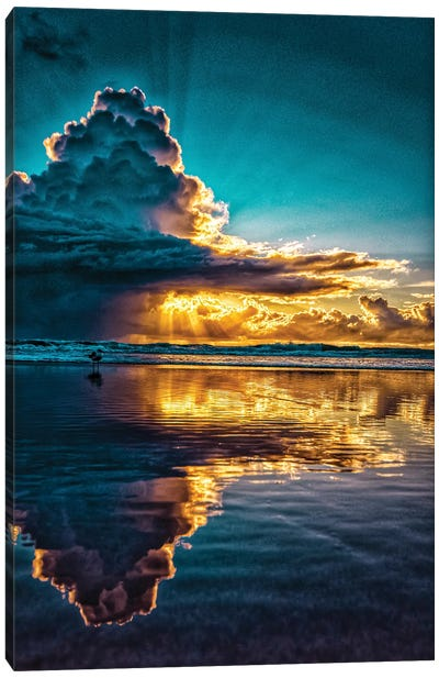 Morning Sun Cloud Canvas Art Print