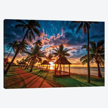 Where I'd Rather Be Canvas Print #BML86} by Ben Mulder Canvas Print