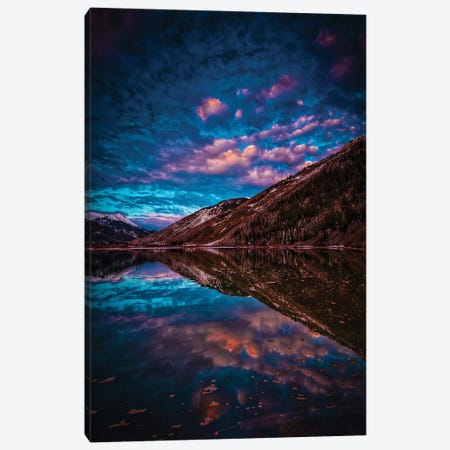 Mountain Reflection Canvas Print #BML89} by Ben Mulder Canvas Artwork