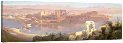 The Island of Philae, Nubia Canvas Art Print