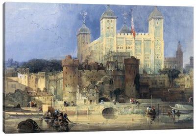 Tower of London  Canvas Art Print