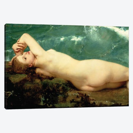 The Pearl and the Wave, 1862  Canvas Print #BMN1000} by Paul Baudry Canvas Art