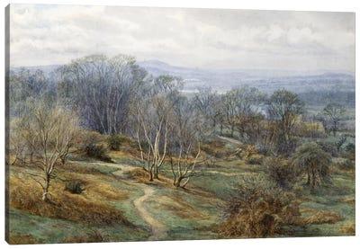 Hampstead Heath Looking Towards Harrow on the Hill, c.1880  Canvas Art Print