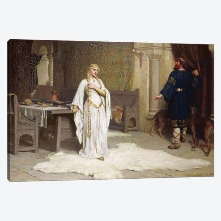 Lady Godiva, 1892  Canvas Print #BMN10030} by Edmund Blair Leighton Canvas Art