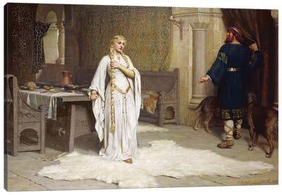 Lady Godiva, 1892  Canvas Art Print