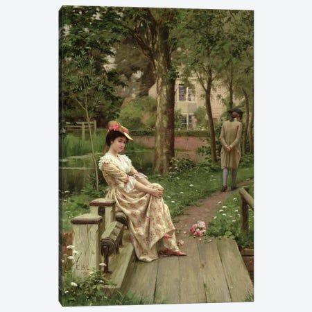 Off, 1899  Canvas Print #BMN10032} by Edmund Blair Leighton Canvas Art