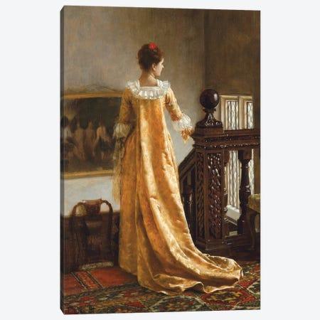 The Golden Train, 1891  Canvas Print #BMN10036} by Edmund Blair Leighton Canvas Art Print