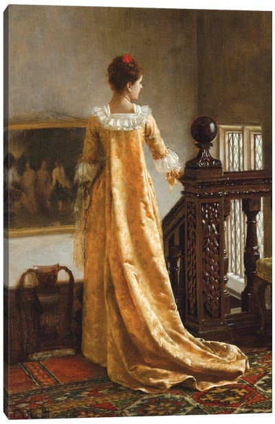 The Golden Train, 1891  Canvas Art Print