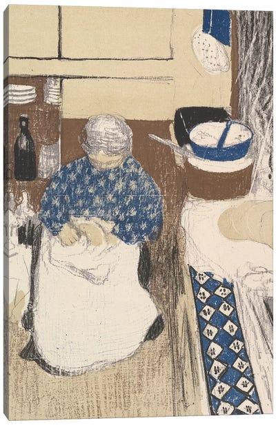 La Cuisinière, from the series Paysages et Intérieurs, 1899  Canvas Art Print