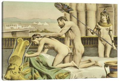 Ancient Times, plate VII from 'De Figuris Veneris', 1900  Canvas Art Print