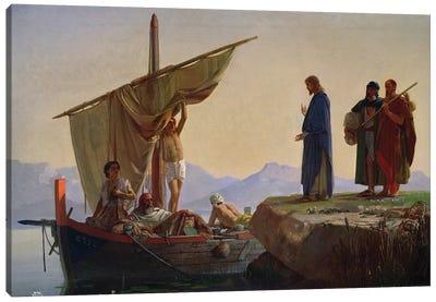 Christ Calling the Apostles James and John, 1869  Canvas Art Print