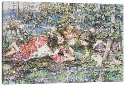 A Summer Idyll Canvas Art Print