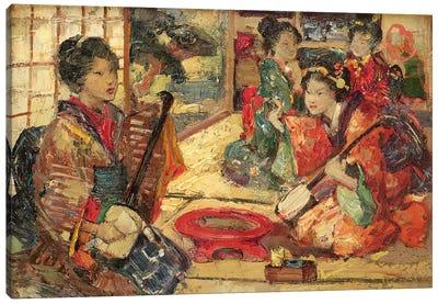 Geishas in an Interior, 1894  Canvas Art Print