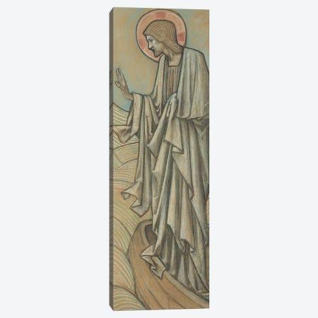 Christ Stilling the Waves   Canvas Print #BMN10058} by Edward Coley Burne-Jones Canvas Artwork