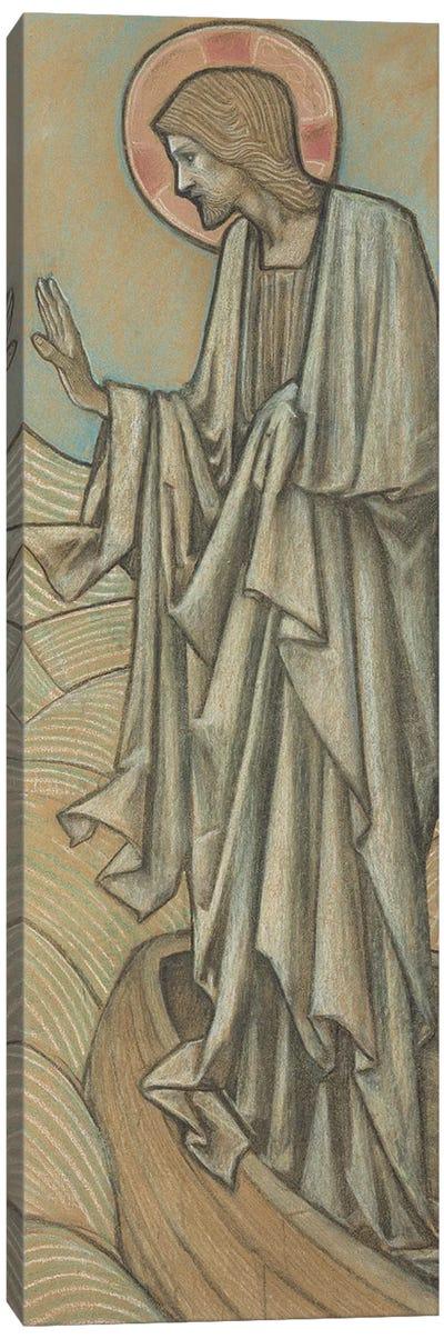 Christ Stilling the Waves   Canvas Art Print