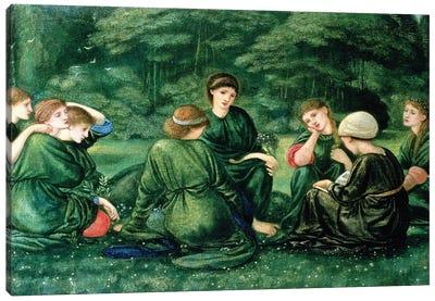 Green Summer, 1868  Canvas Art Print