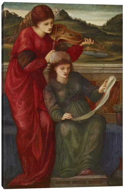 Music, 1877  Canvas Art Print