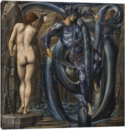 The Doom Fulfilled  c.1882  Canvas Art Print