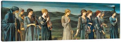The Wedding of Psyche, 1895, by Edward Burne-Jones . Canvas Art Print