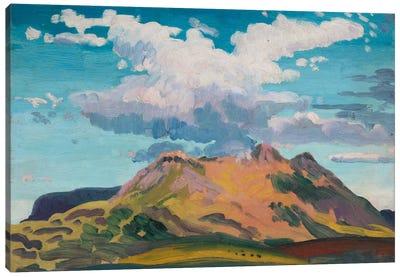 Arenig Fawr, North Wales, c.1911  Canvas Print #BMN1007