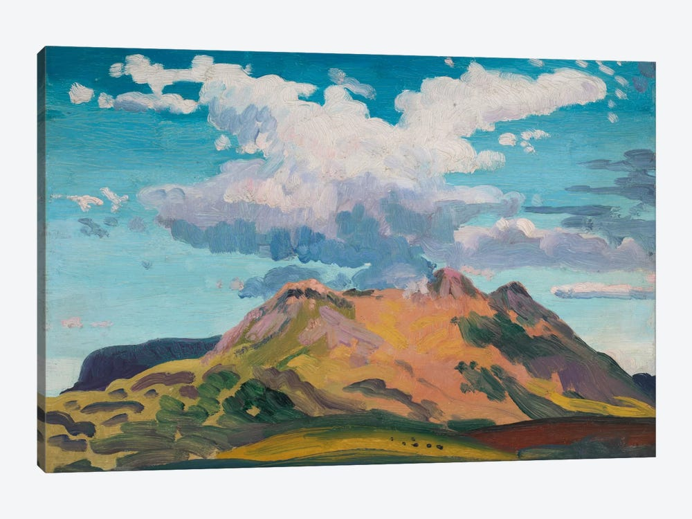 Arenig Fawr, North Wales, c.1911  by James Dickson Innes 1-piece Canvas Wall Art