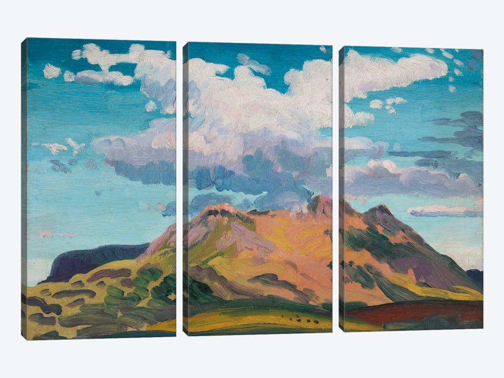 Arenig Fawr, North Wales, c.1911  by James Dickson Innes 3-piece Canvas Art