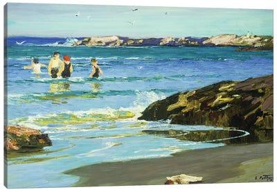Low Tide,  Canvas Art Print